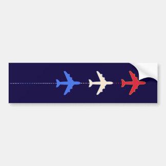 avions de lignes aériennes autocollant de voiture