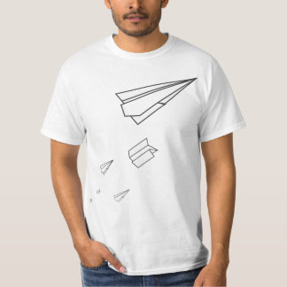 Avions de papier t-shirt
