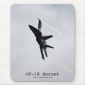 Avions Mousepad du frelon CF-18 Tapis De Souris