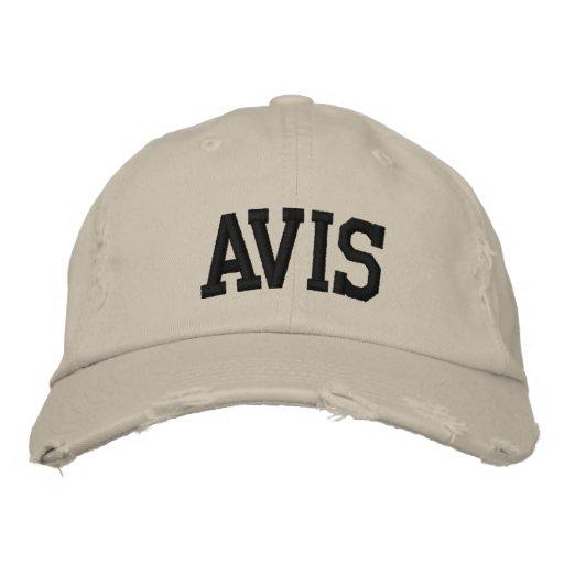 Avis a brodé le chapeau casquette brodée