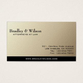 Avocat - cartes de visite