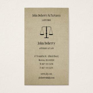 Avocat de l'avocat   cartes de visite