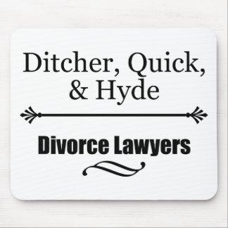 Avocats spécialisés en divorce tapis de souris