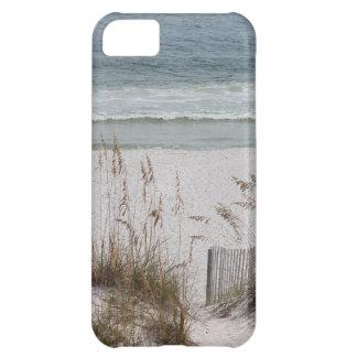 Avoine de mer le long du côté de plage coque iPhone 5C