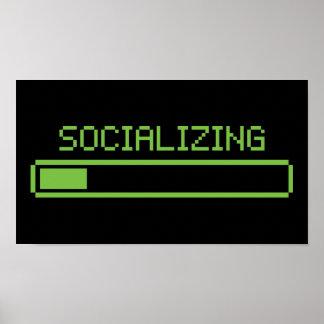 Avoir une vie sociale poster