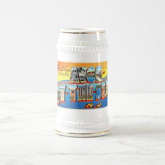Avon par la carte postale vintage du New Jersey NJ Chope À Bière