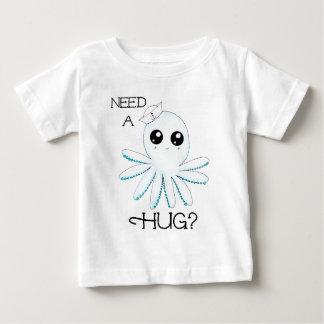Ayez besoin d'un poulpe mignon de marin de Kawaii T-shirt Pour Bébé