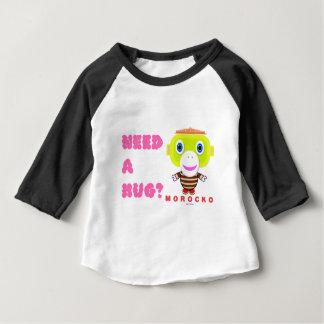 Ayez besoin d'un Singe-Morocko Étreinte-Mignon T-shirt Pour Bébé