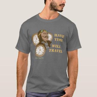 Ayez le T-shirt de temps