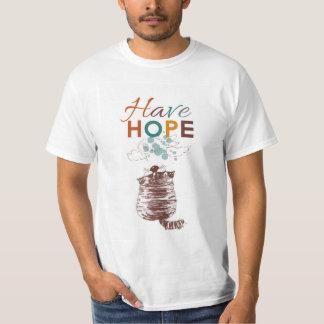 Ayez le T-shirt d'espoir