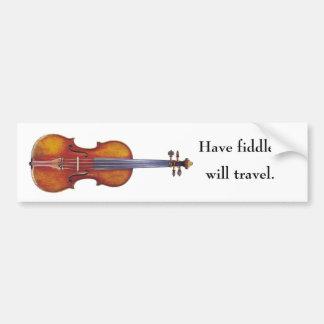 Ayez le violon voyagerez adhésifs pour voiture