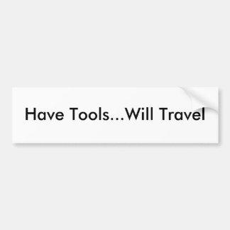 Ayez les outils… voyagera autocollant de voiture