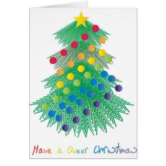 Ayez Noël étrange Carte De Vœux