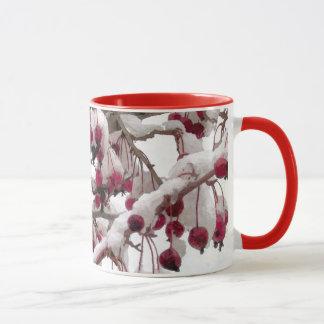 Ayez très une tasse de Noël de cerise