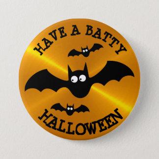 Ayez un bouton timbré de Halloween Pin's