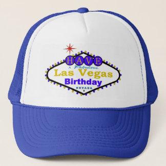 Ayez un casquette fabuleux d'anniversaire de Las