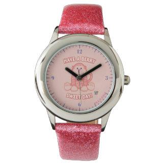 Ayez un jour de bonbon à baie montres bracelet