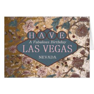 AYEZ une carte fabuleuse de Las Vegas