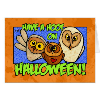 ayez une huée Halloween Carte De Vœux
