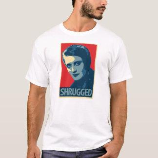 Ayn Rand - gesticulé : T-shirt d'OHP