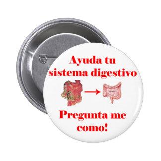 Ayuda TU Sistema Digestivo Badge