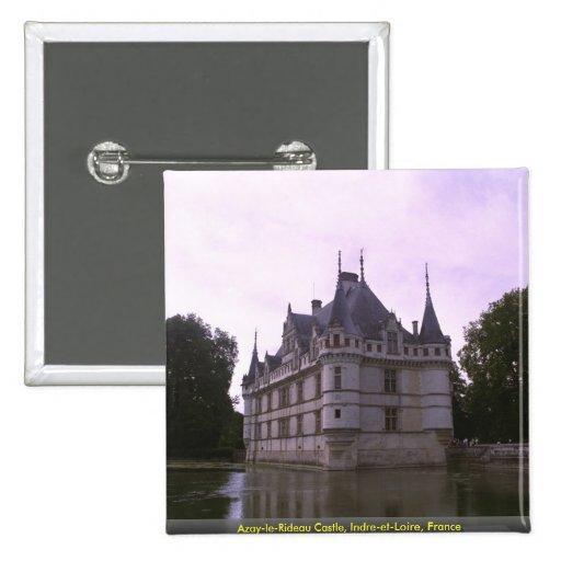 Azay-le-Rideau Castle, Indre-et-Loire, France Badge