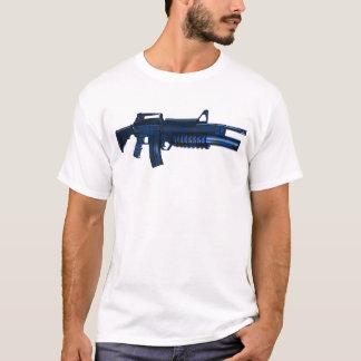Azmodeus Camo M16 bleu, T-shirt