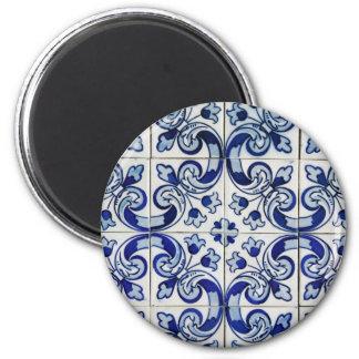 Azulejo Magnet Rond 8 Cm