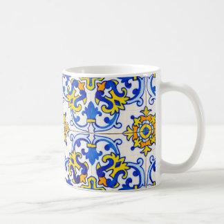 Azulejos l'art des carreaux de céramique portugais mug