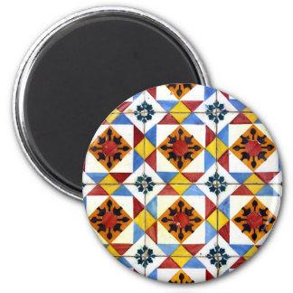 Azulejos Magnet Rond 8 Cm