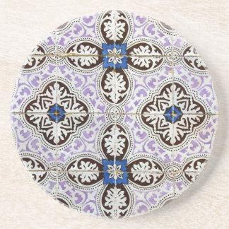 Azulejos, Portuguese Tiles Dessous De Verres