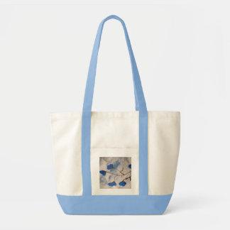 Azur Floraison Tote Bag