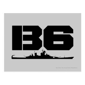 B6 CARTE POSTALE