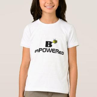 B a autorisé le T-shirt de filles