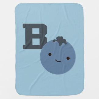 B est pour la myrtille couverture de bébé