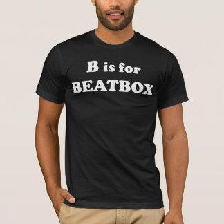 B est pour le T-shirt de Beatbox