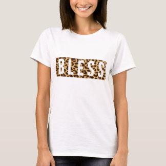 B L empreinte de léopard d'E S S T-shirt
