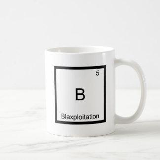 B - Symbole drôle d'élément de chimie de Blaxploit Tasses À Café