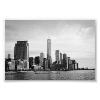 B&W Manhattan Tirages Photo