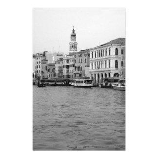 B&W Venise 4 Papier À Lettre Customisé