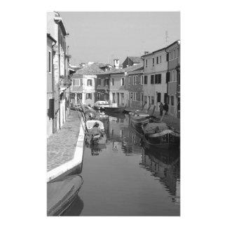 B&W Venise 5 Motifs Pour Papier À Lettre