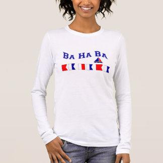 Ba d'ha de Ba, avec les drapeaux maritimes T-shirt À Manches Longues