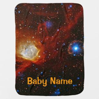Babiole, nébuleuse N90 et pulsar célestes SXP1062 Couverture De Bébé