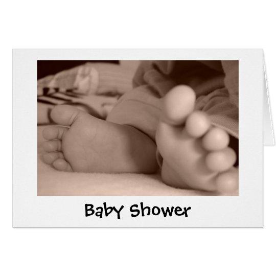 Baby shower carte de vœux