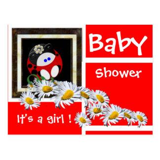 Baby shower cartes postales
