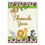 Baby shower d'anniversaire de carte de remerciemen