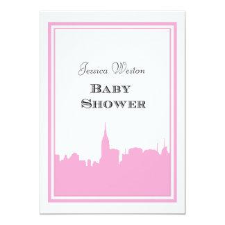 Baby shower de la silhouette #2 do-it-yourself de carton d'invitation  12,7 cm x 17,78 cm