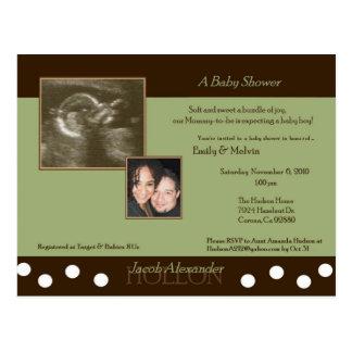 Baby shower pour la carte postale USA d'Emily et