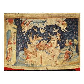 Babylone a envahi par des démons carte postale