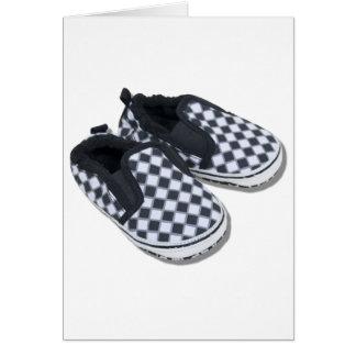 BabyRacingShoes101610 Carte De Vœux